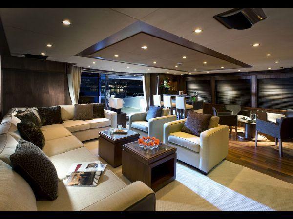 131 Sunseeker 40M Yacht Island Life Luxury Yacht