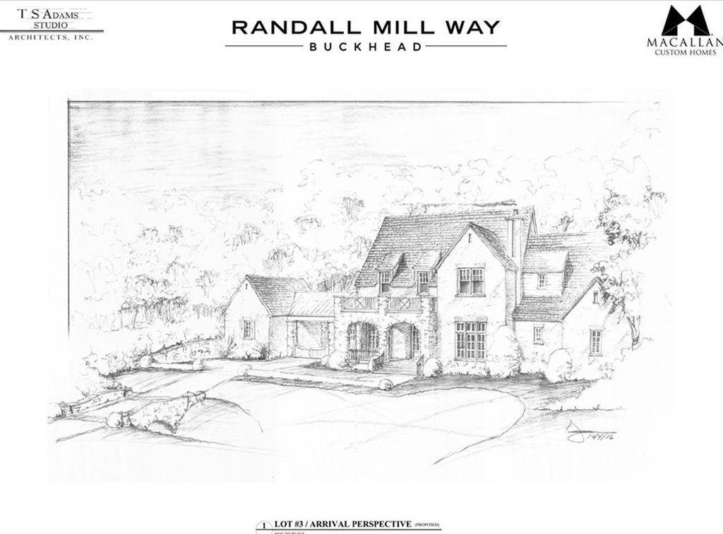 4035 3 Randall Mill Way Atlanta Ga 30327 Mls 5766855 Zillow Villa S Schetsen
