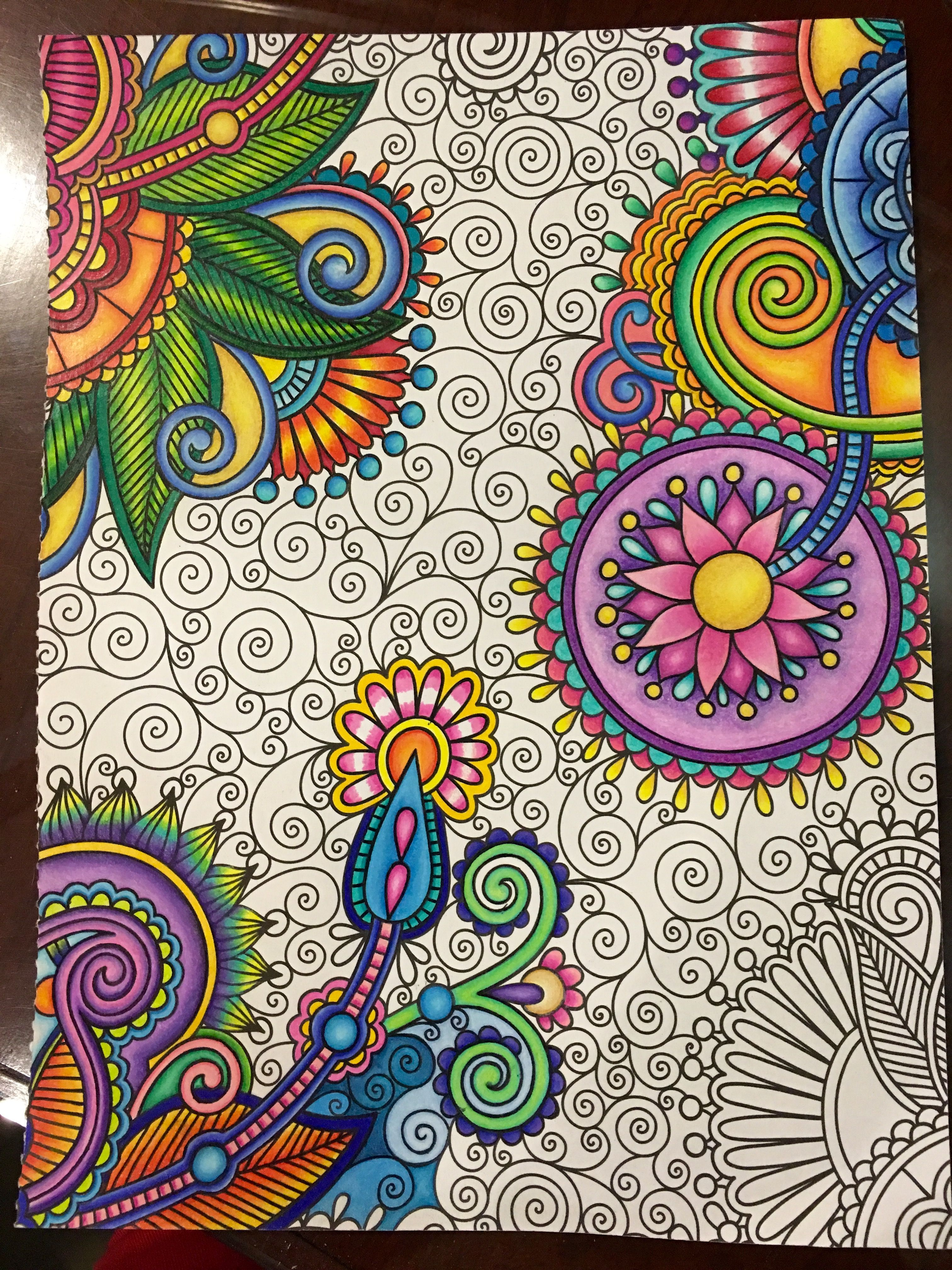 Kaleidoscope Wonders Color Art For Everyone A Coloring Book That Features 24 Design Pages Of Intricate Colorful Art Mandala Design Art Pattern Design Drawing