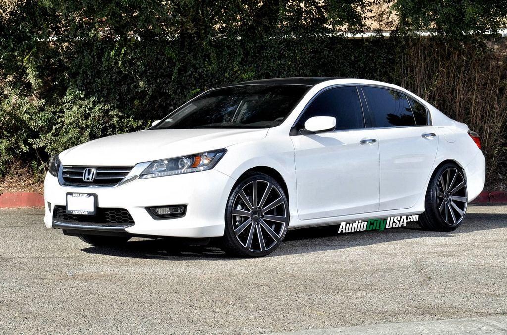2014 honda accord sedan on 20 gianelle for 2014 honda accord black