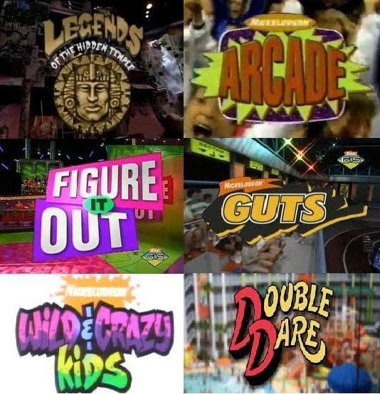 Nickelodeon Game Shows | 90s Nickelodeon FTW | Nickelodeon