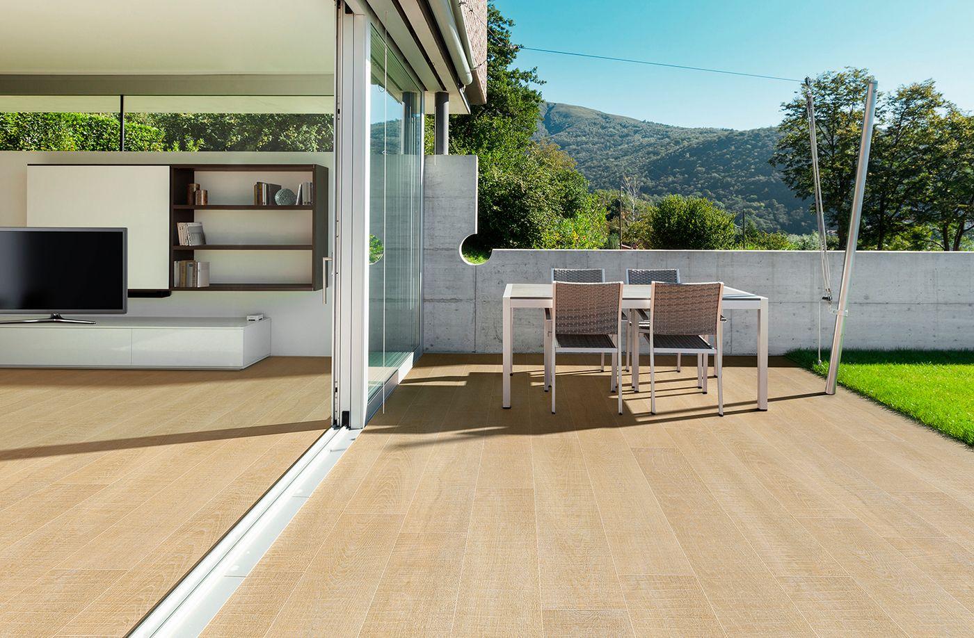 Holzfliesen passen einfach überall und immer. #holzfliesen #home