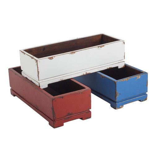 Pine Planter Box Rectangular Planters Planters And Outdoor Products