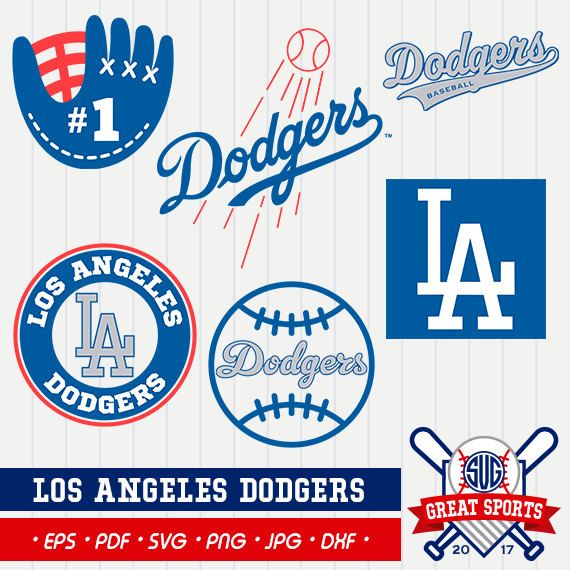 los angeles dodgers svg dodgers clipart los angeles