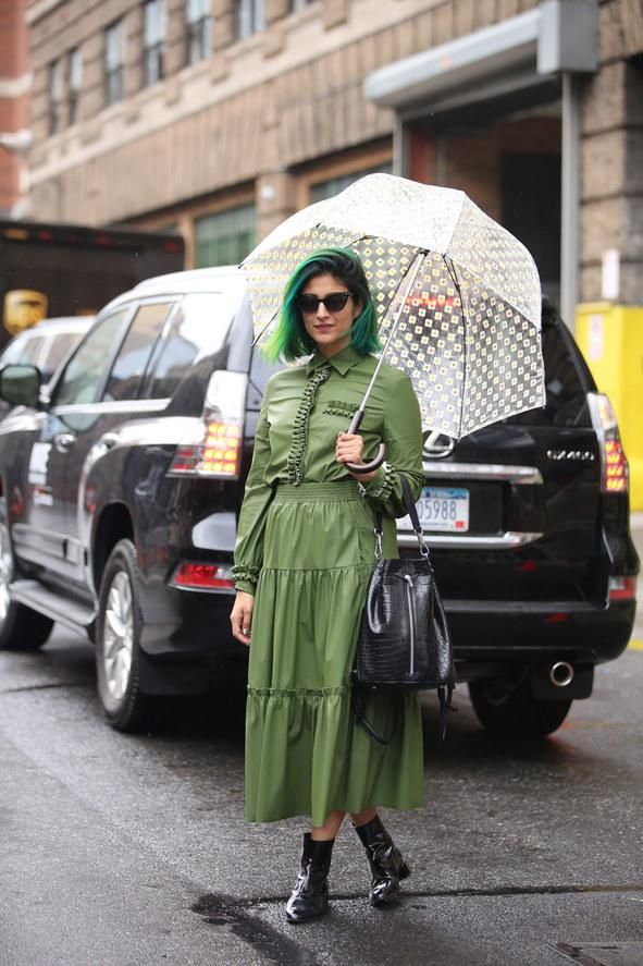 The best street style and fashion looks from NYFW