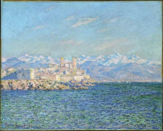 Antibes, Afternoon Effect, Claude Monet French, 1840–1926 - http://www.mfa.org/collections/object/antibes-afternoon-effect-32301