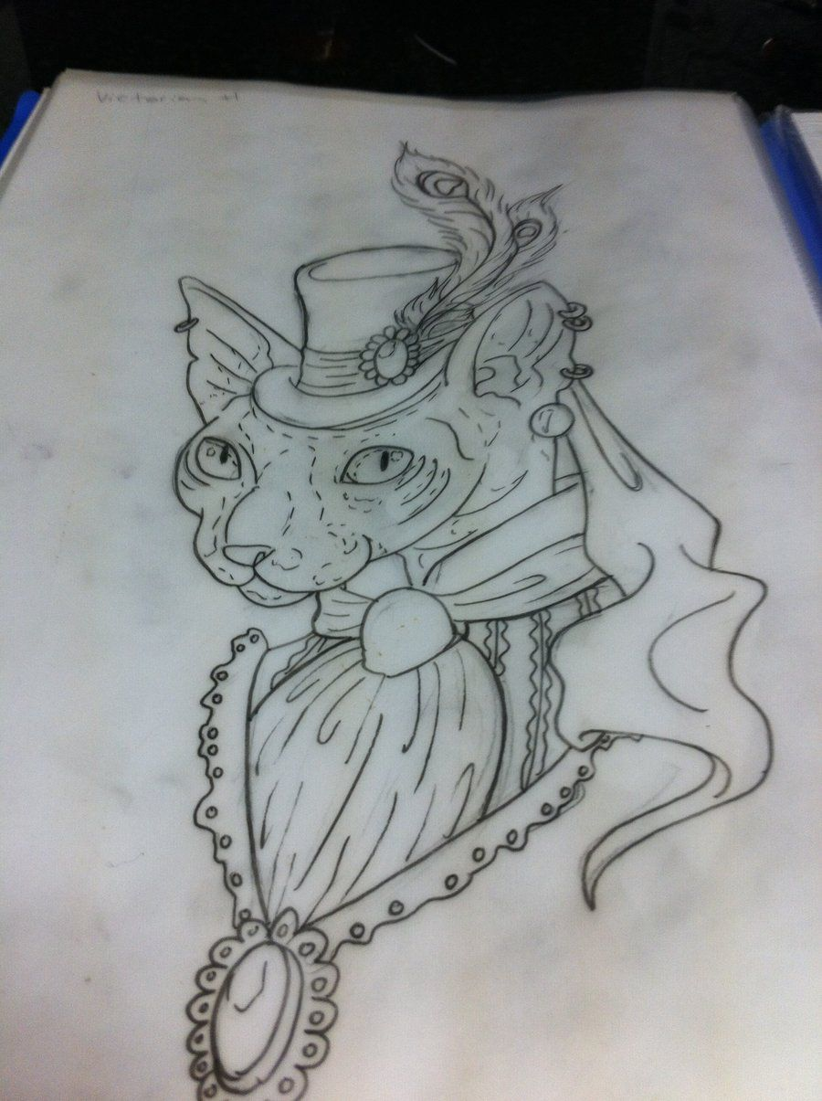 tattoo designs Victorian