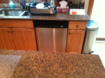 Honey Maple Cabinets With Granite   Honey Spice Maple Cabinets Design  Ideas, Pictures, Remodel, And Decor