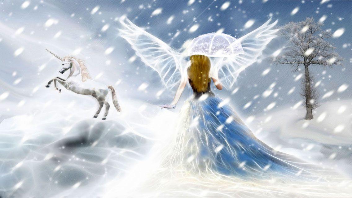 Christmas Angel Angel Wallpaper Unicorn Photos Angel Images
