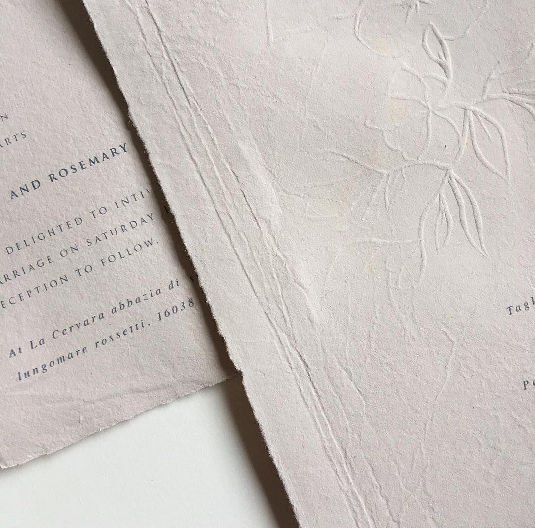 Paper handmade paper embossed embossing hand print wedding paper handmade paper embossed embossing hand print wedding invites monicamarmolfo Choice Image