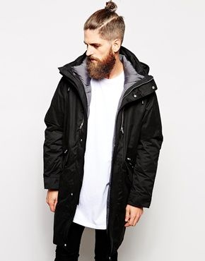 a4bb8f2fc ASOS+2+In+1+Longline+Parka+Jacket | Fashion | Cool jackets for men ...