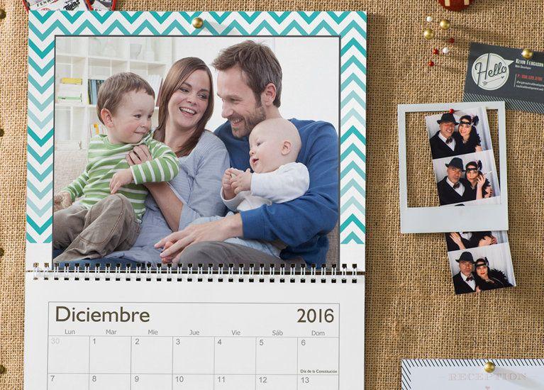 12 Increibles Sorpresas Romanticas Custom Photo Calendar