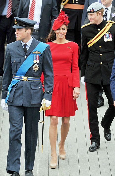 Prince William, Duke and his wife Catherine, Duchess of Cambridge during the Thames Diamond Jubilee Pageant on the River Thames in London on June 3, 2012.