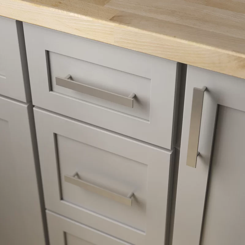 Simple Chamfered Kitchen Cabinet Or Furniture Drawer 5 1 16