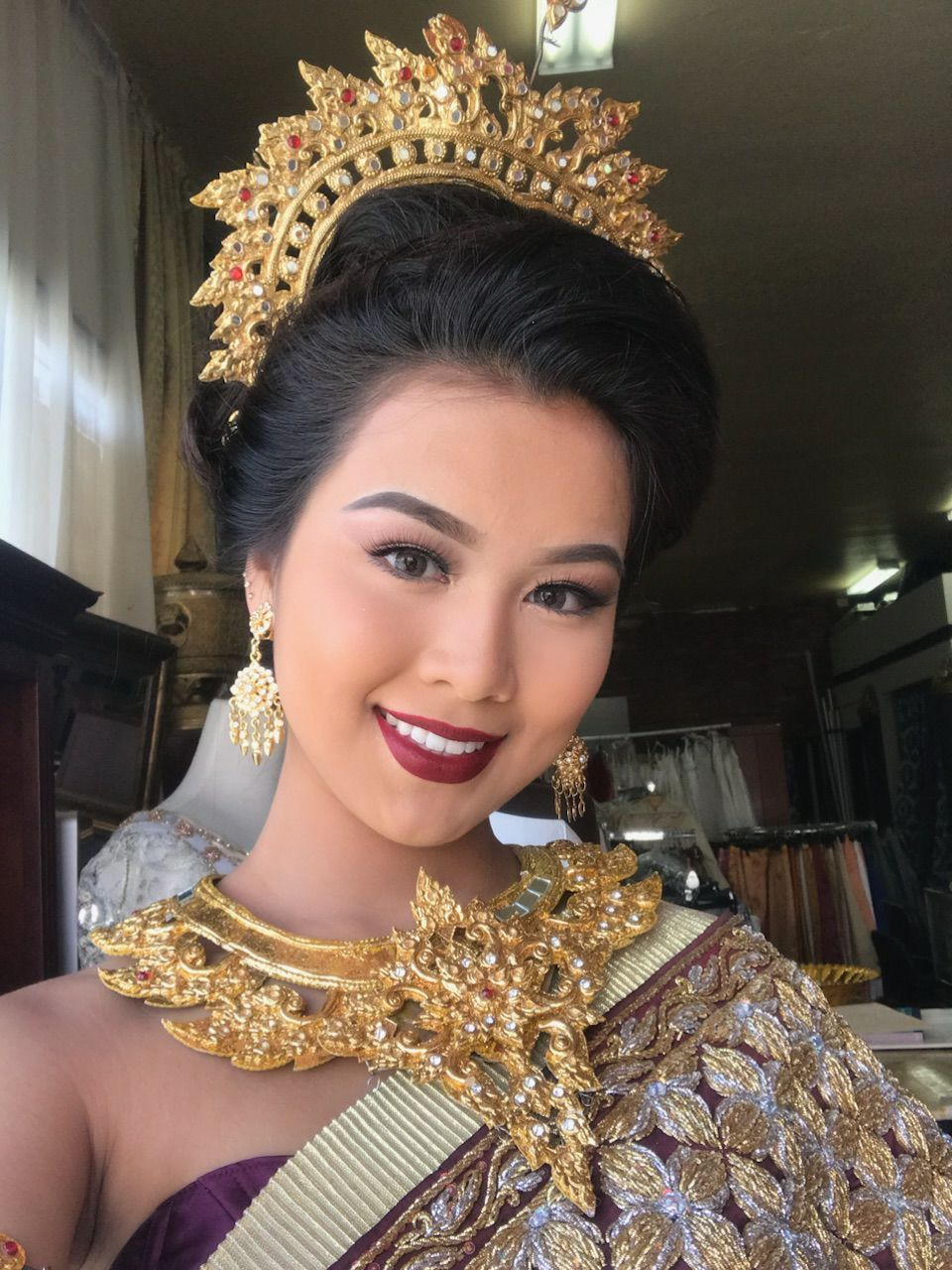 Khmer traditional costume cambodia in pinterest