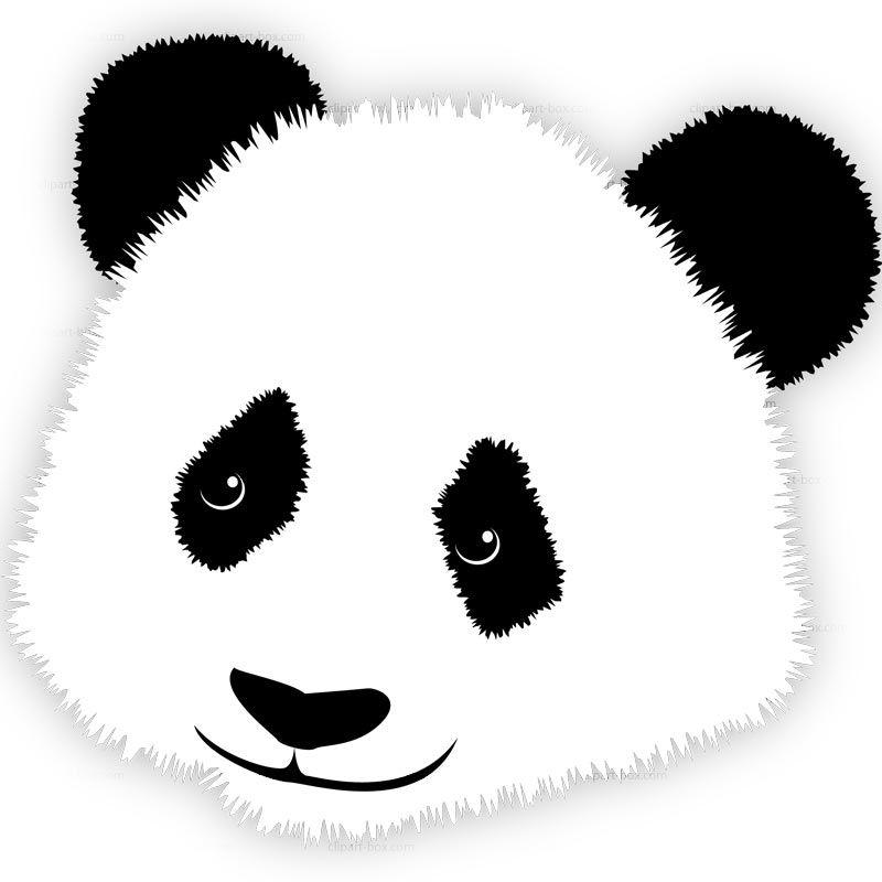 Clipart Panda S Head Royalty Free Vector Design Panda Head Panda Bear Panda