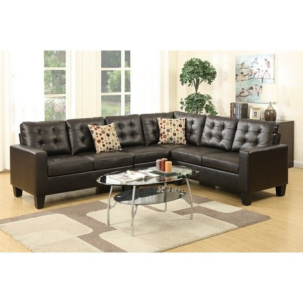 4 Pc Collette Ii Collection Espresso Bonded Leather