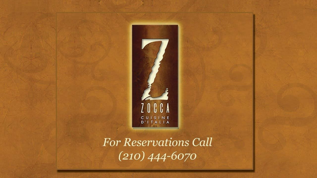Restaurants on the Riverwalk | Zocca Cuisine D\' Italia | Italian ...