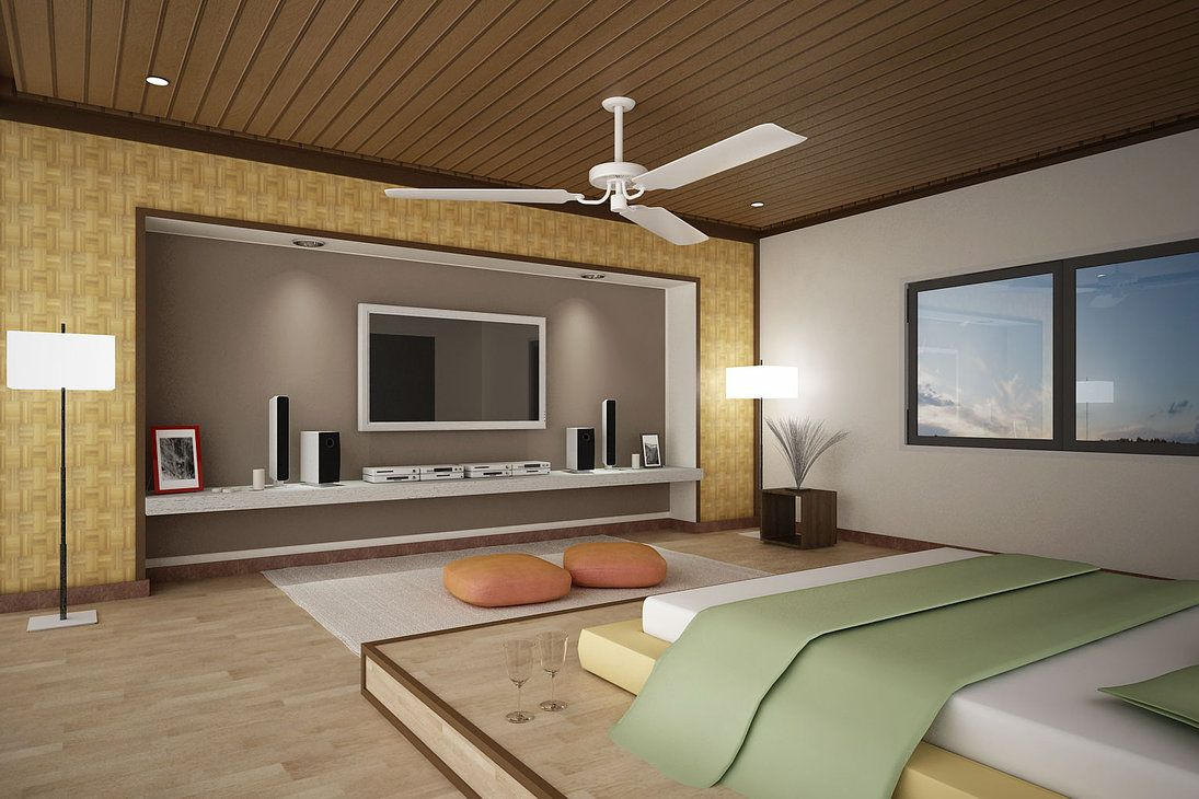 Best Wooden Bedroom Ceiling Idea Feat Cool Long Narrow Tv