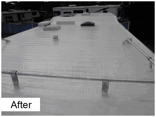 Benefits Of Liquid Epdm Roof Rv Roof Repair Liquid Roof Roof Coating