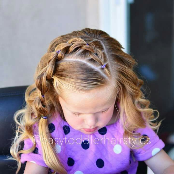Pin by Kasey Franz on Piper hair   Pinterest   Girl hair, Hair style ...