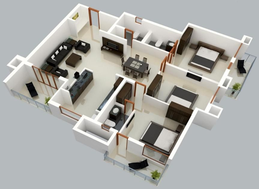 Need A Proper 3d Floor Plan For Your Home Or Office Contact The