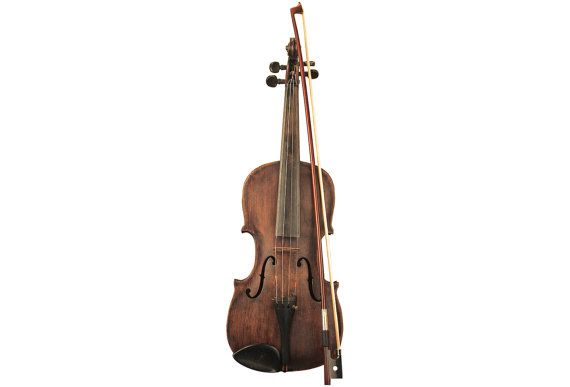 Antique Violin 1/8 Bow Wooden Case Rustic by ObjectsbyEchoes,