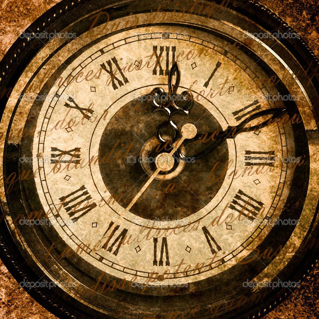Old Clock Clockface Close Up Texture Vintage Clock Old Clocks Vintage Mantle Clocks