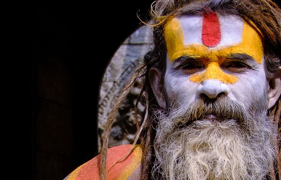 Photographs & information about the Sadhu holy men of Nepal