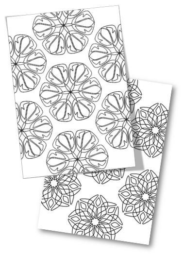 2nd Edition Mandala Coloring and Doodling Book Pages, 12