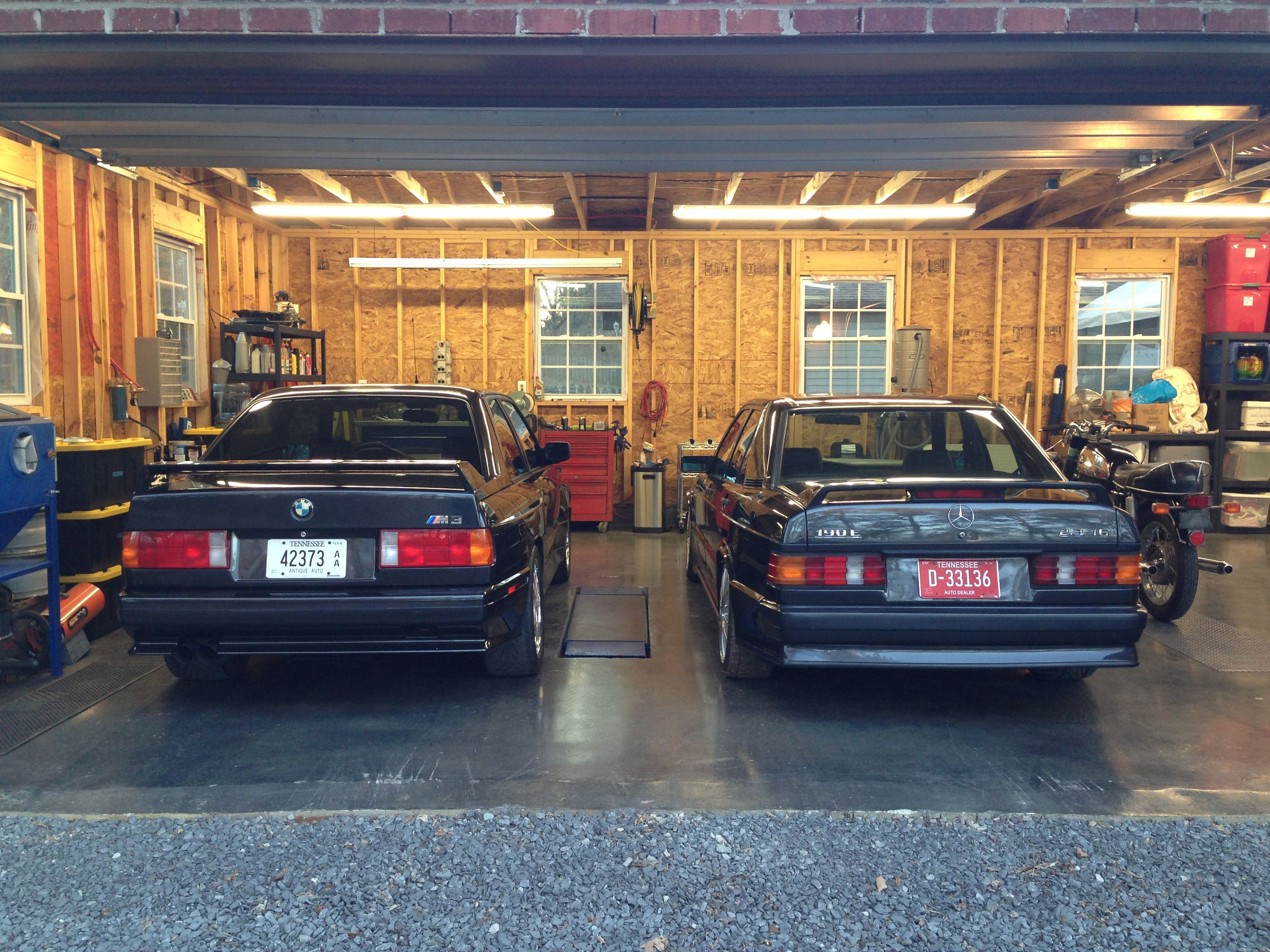 80's legends! bmw e30 m3 and a mercedes 190e 2.3 16v amg cosworth