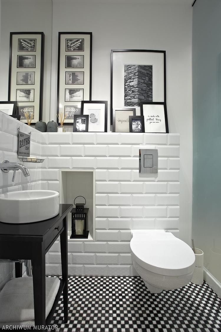 Czarno Biale Kafelki Home Idea W 2019 Nowoczesne