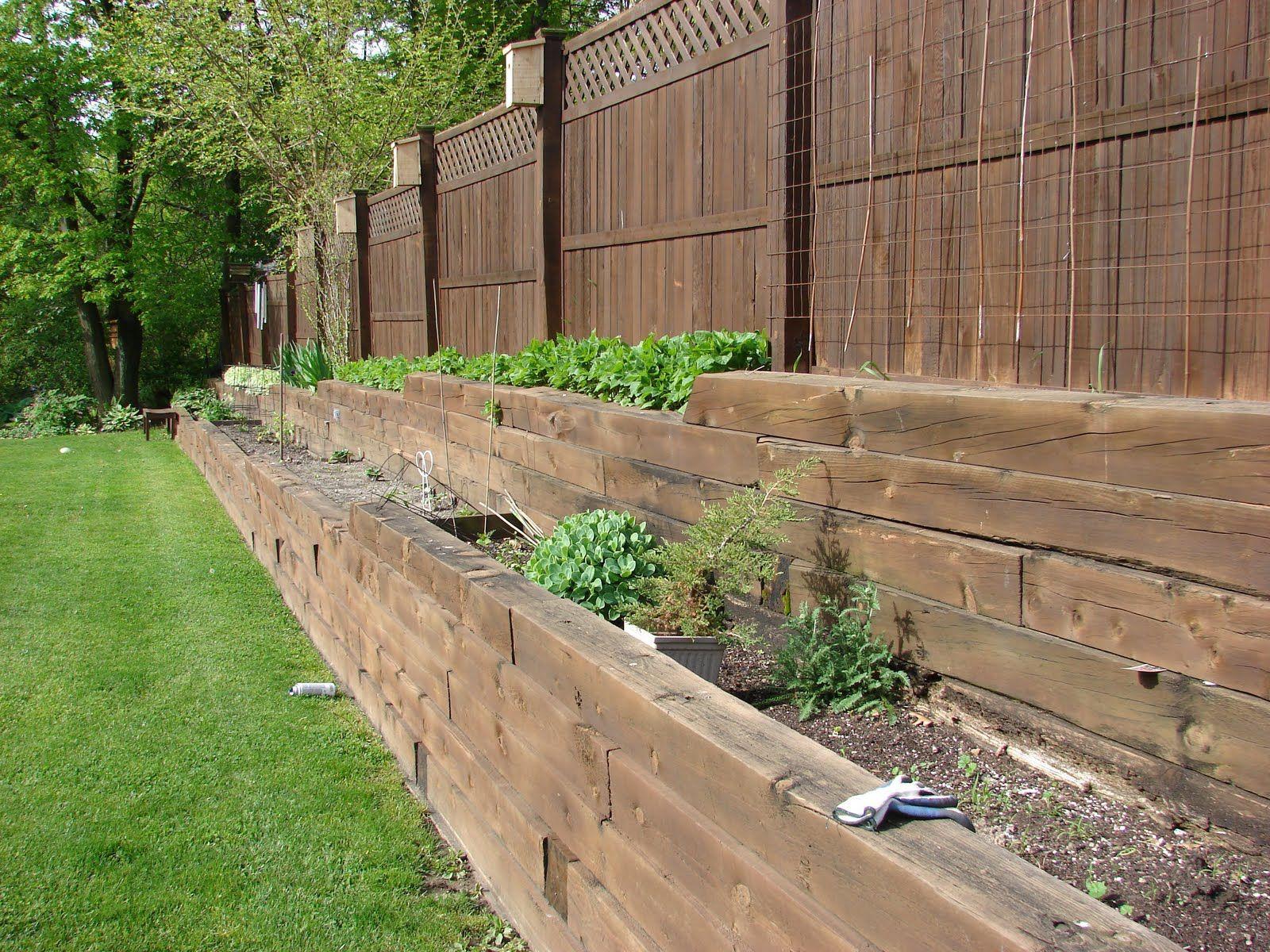 tiered garden beds