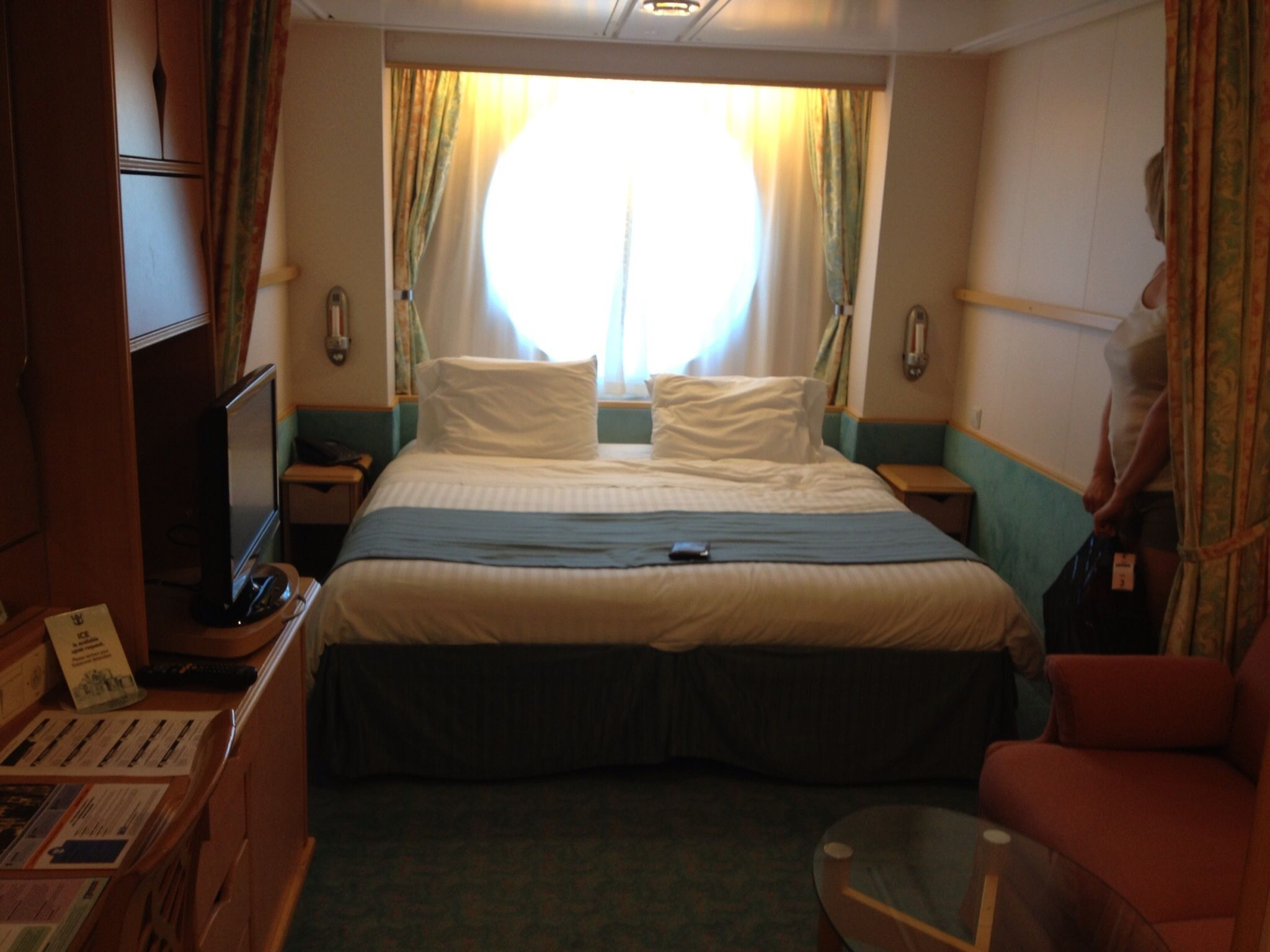 Royal Caribbean Adventure of the Seas Oceanview Cabin