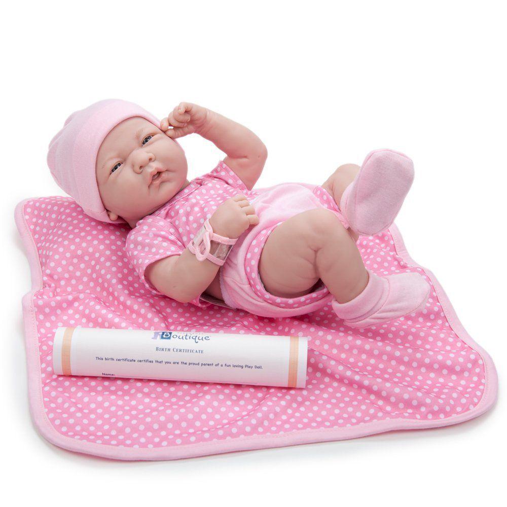 Newborn Baby Girl Toys : Amazon jc toys la newborn boutique inch doll