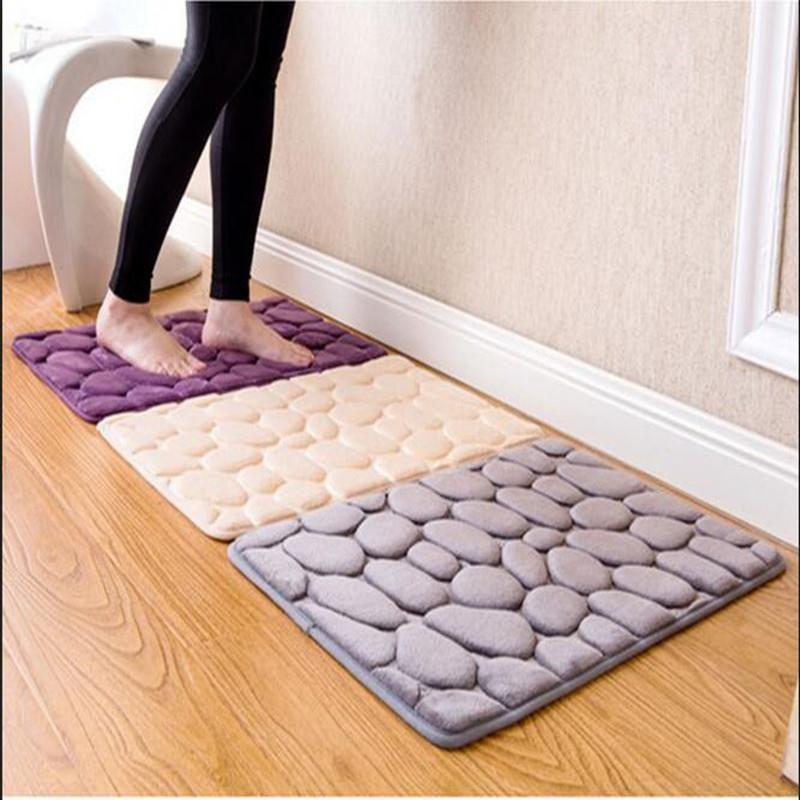 Pad Toilet Kitchen Living Room Floor Anti Slip Bath Mat Bathroom Carpet Doormat