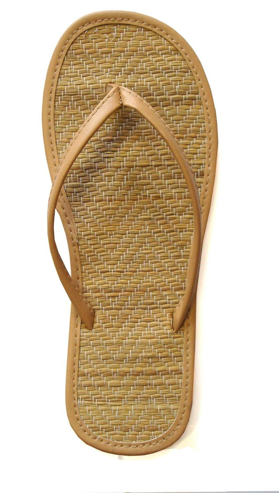 9c04f896dd90 New Women s Bamboo Flip Flop Sandals Beach Gym Pool Party Wedding ...