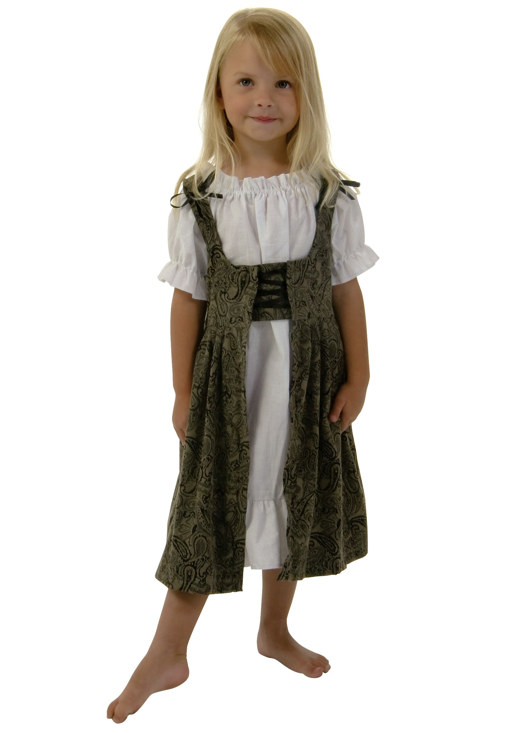 Image detail for -Girls Toddler Medieval Dress - Kids Medieval Halloween Costumes  sc 1 st  Pinterest & Child Renaissance Halloween Costumes | Things to make | Pinterest ...