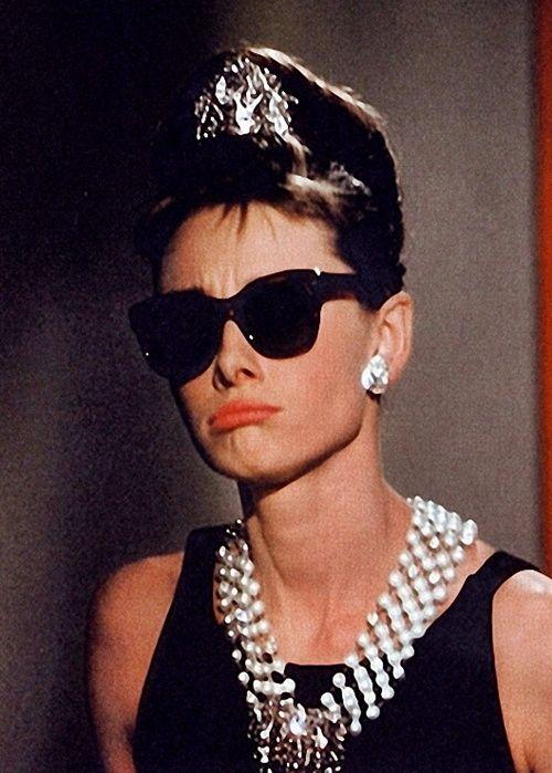 efb3535c8e Audrey Hepburn in Breakfast at Tiffany s