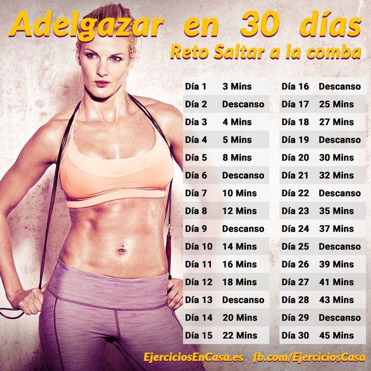 adelgazar en 30 dias ejercicio