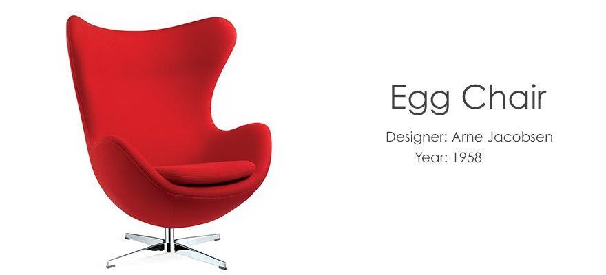 Egg Chair  sc 1 st  Pinterest & Classic Chairs on the Cheap! | Pinterest | Egg chair Arne jacobsen ...