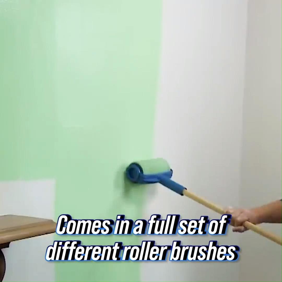 Multifunctional Paint Roller Brush Tools Set 8 Pcs In 2020 Painting Furniture Diy Diy Home Repair Paint Roller