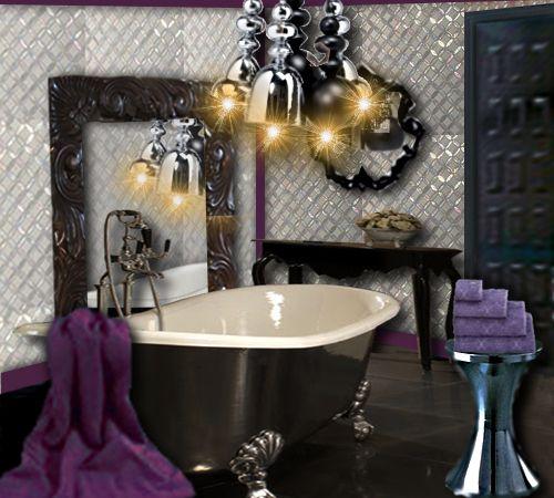 salle de bain baroque baroque le style et salle de bains. Black Bedroom Furniture Sets. Home Design Ideas