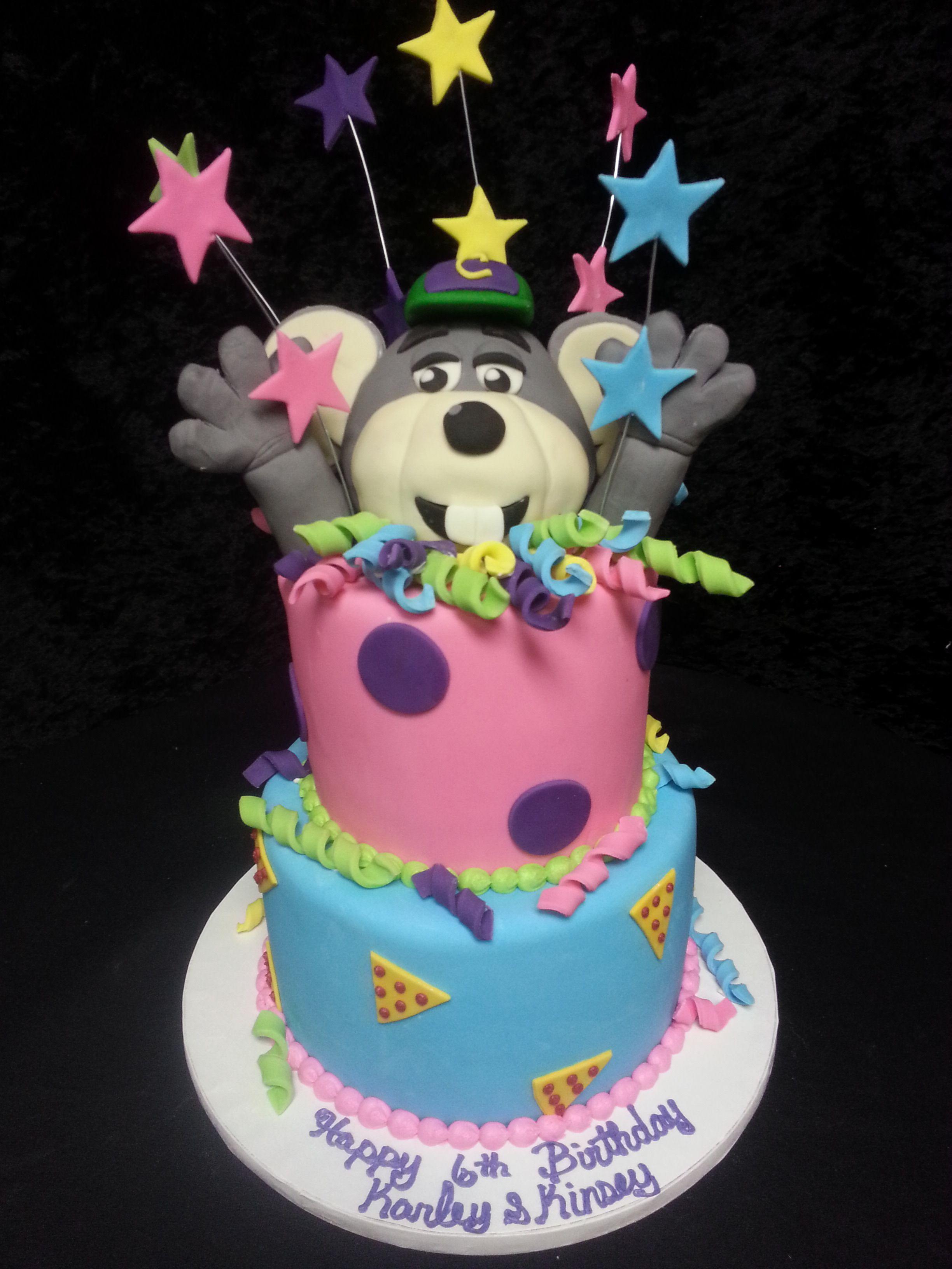 Cookie Jar Bakeshop I Custom Cakes I Chuck E Cheese I birthday