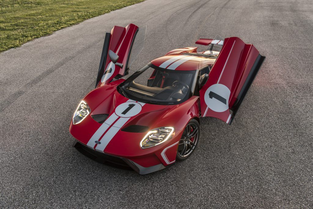 Celebrate The 4th Of July With A Special Ride In The 2018 Ford Gt
