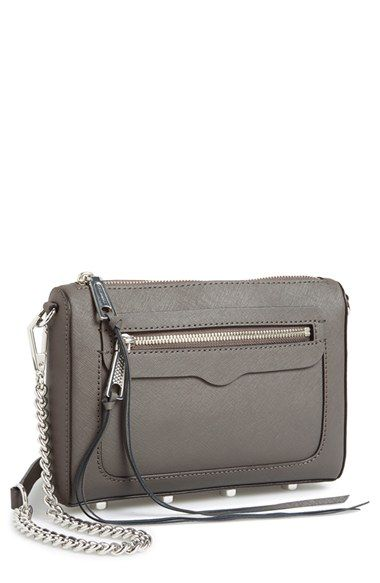 e6e48eec7257c Free shipping and returns on Rebecca Minkoff  Avery  Crossbody Bag at  Nordstrom.com. A chic clutch shaped from impeccably textured Saffiano  leather features ...