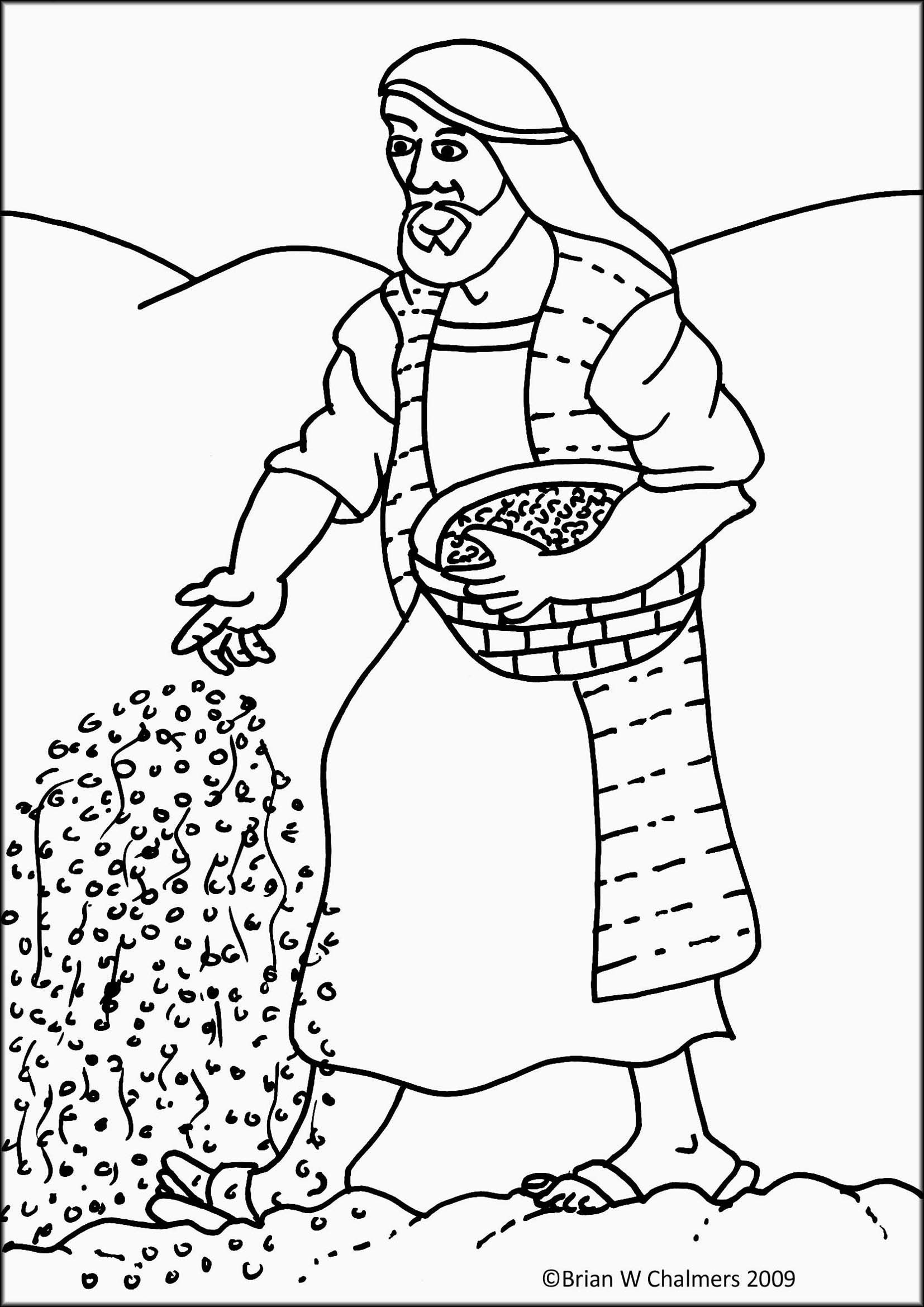 30+ Parable of the mustard seed coloring page info