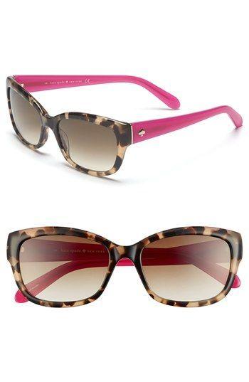 1ad09b8e08f4b kate spade johanna 53mm retro sunglasses available at  Nordstrom Saída De  Óculos De Sol