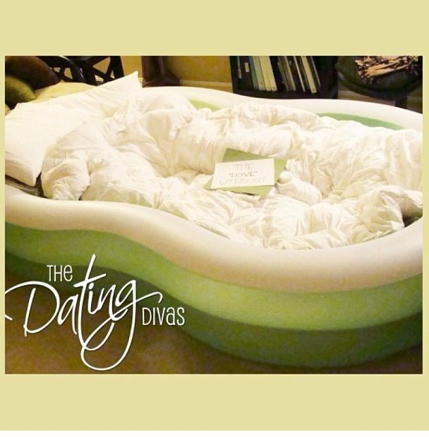Inflatable Pool Ideas 16 fun inflatable pool ideas Fill Inflatable Pool With Pillows And Blankets Put In The Bed Of Truck For A