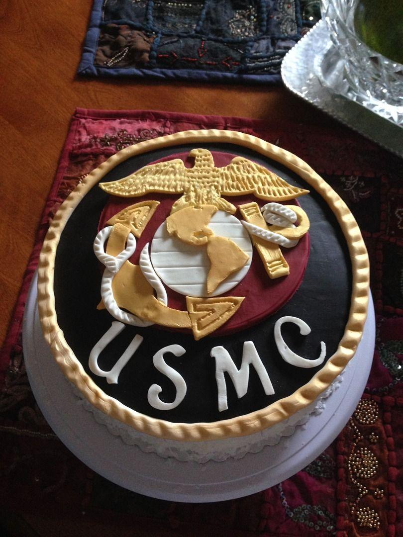 USMC Cake Marine cake